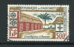 DAHOMEY- P.A Y&T N°19- Oblitéré - Bénin – Dahomey (1960-...)
