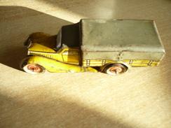 Blech-LKW Schlüsselwerk  (349) - Antikspielzeug