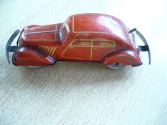 Blechauto Schlüsselwerk  (350) - Antikspielzeug