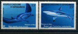NOUVELLE-CALEDONIE  ( POSTE ) : Y&T  N°  443/444  TIMBRES  NEUFS  SANS  TRACE  DE  CHARNIERE , A  VOIR . - Nueva Caledonia