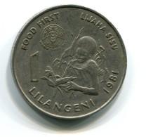 1981 Swaziland 1 Lilangeni Coin - Swaziland
