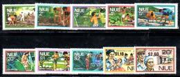 W785 - NIUE 1977  ,  Yvert  Serietta N. 185/194 ***  MNH - Niue