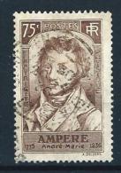 "FR YT 310 "" André-Marie AMPERE "" 1936 Oblitéré - Francia"