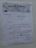 Wervicq Nord Ets Cousin Freres 1956 - Textile & Vestimentaire