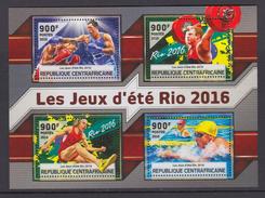 CENTRAL AFRICAN REPUBLIC 2016 OLYMPIC GAMES RIO 2016 - Verano 2016: Rio De Janeiro