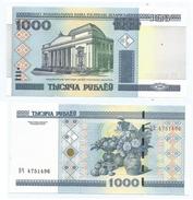 Bielorrusia - Belarus 1.000 Rublei 2000 Pick 28.b UNC Ref 176-1 - Belarus