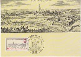 Berlin 1982 750Y Stadt Spandau  1v Maxicard (33177) - [5] Berlijn