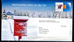 BUND EA B67  FALTBRIEF WEIHNACHTEN Mit Inhalt 2006 - Sobres - Usados