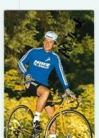 Peter FRISCHKNECHT , Autographe Manuscrit, Dédicace . 2 Scans. Cyclisme. Hirz Fit - Cycling