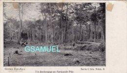 Espagne - Guinée Espagnole - Guinea Espanola - Un Desbosque En Fernando Poo – (Cavalier) - (voir Au Dos). - Guinée Equatoriale