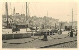 LE HAVRE (seine Maritime) - Le Port Bateaux En 1939 ; Photo Format 13,5x8,7cm. - Plaatsen