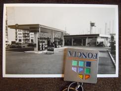 Photo ,  Le Havre , Station Essence Total Boulevard Clemenceau , Quartier Perret - Lieux