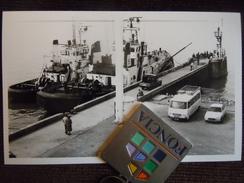 Photo ,  Le Havre , La Petite Jetée , Station Des Remorqueurs Et Abeilles Du Port Autonome - Lieux