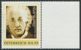 ÖSTERREICH / PM Nr. 8004248 / Albert Einstein / Postfrisch / ** / MNH