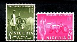 T1331 - NIGERIA HUNGER FAME,  Yvert N. 137/138  *** MNH - Nigeria (1961-...)