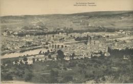 PONT A MOUSSON - Vue Générale - Carte Panoramique 3 Volets - Pont A Mousson