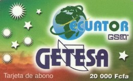 *GUINEA EQUATORIALE* - Scheda Usata
