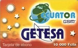 *GUINEA EQUATORIALE* - Scheda Usata - Guinea Equatoriale