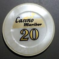 TOKEN SLOVENIA CASINO MARIBOR 20 RR.. - Casino