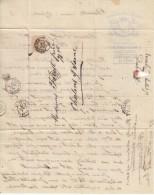 Nr 33, Op Brief Van Bruxelles Naar Chalons Chaone (07774) - 1869-1883 Léopold II