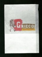 Tovagliolino Da Caffè - Caffè Grieco - Serviettes Publicitaires