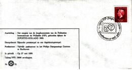 Nederland - 27 Mei 1980 - Congres FIP-Jeugdcommissie JUPOSTEX HOLLAND 1980 - Z 75 - Marcofilie - EMA (Print Machine)