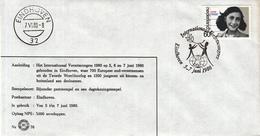 Nederland - 5/7 Juni 1980 - Internationaal Verzetscongres - Eindhoven - Z 76 - Marcofilie - EMA (Print Machine)