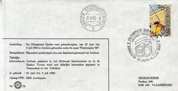 Nederland - 21 Juni/5 Juli 1980 - Olympics Disabled - Paralympics '80 - Arnhem - Z 78 - Marcofilie - EMA (Print Machine)