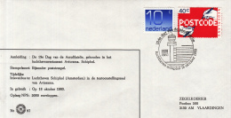 Nederland - 18 Oktober 1980 - 19de Dag Van De Aerofilatelie - Luchthaven Schiphol - Z 97 - Marcofilie - EMA (Print Machine)