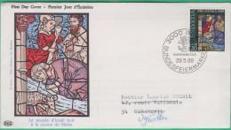 FDC Suisse -  Premier Jour - 1969 - Pro Patria - Le Peuple D'Israël Boit à La Source De Moïse - N°835 - FDC