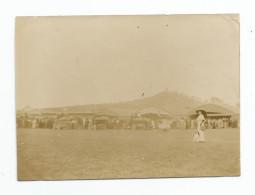 Photographie  Aviation Vesoul - 70 - Camp Hangar Marchand De Glace 9 /09/1911 Photo 5,7 X 8,1 Cm - Aviation