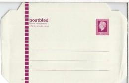 HOLANDA ENTERO POSTAL - Postal Stationery