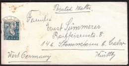 Japan 11. 11. 1962. / Sent To Germany - Briefe U. Dokumente