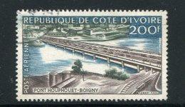 COTE D´IVOIRE- P.A Y&T N°19- Oblitéré - Côte D'Ivoire (1960-...)