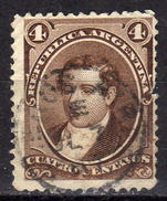 ARGENTINIEN 1867 - MiNr: 19  Used - Gebraucht