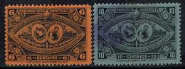 GUATEMALA 1897 - MiNr: 59+60  Used - Guatemala