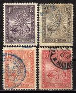 MADAGASKAR 1903 - Lot 4 Verschiedene  Used - Madagaskar (1889-1960)