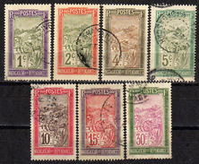 MADAGASKAR 1908 - MiNr: 74-90 Lot 7 Verschiedene  Used - Madagaskar (1889-1960)
