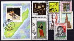 MADAGASKAR 1960-1994 - Lot  Verschiedene  Used - Madagaskar (1960-...)