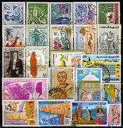 TUNESIEN 1958-1979  - Lot 22 Verschiedene  Used - Tunesien (1956-...)