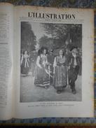 L´ ILLUSTRATION 03/07/ 1909 PUBLICITE NANCY FETES DIRIGEABLE CONSTANTINOBLE SEATLE SOLFERINO SAN MARTINO PARIS RUE ROME - Newspapers