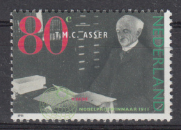 Nederland - T.M.C. Asser Nobelprijswinnaar Vrede 1911 - MNH - NVPH 1480 - Nobelprijs