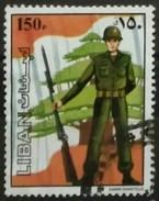 LIBANO 1984 Lebanese Army. USADO - USED - Líbano