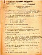 RAPATRIEMENT PRISONNIERS GUERRE ET DEPORTES NOTE N°2 LIBERATION FRANCE VICTOIRE - 1939-45