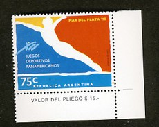 Argentine Jeux Panaméricains Plongeon  Natation
