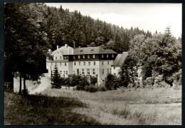 7598 - Alte Foto Ansichtskarte - Crottendorf - FDGB Kurheim Wolfner Mühle- Reichenbach - TOP - Markersbach