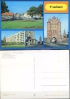 Ak DDR - Friedland - Markt - Rudolf - Breitscheid - Str. - Fangelturm - Neubrandenburger Torturm - Other