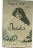 Theme Voeux Rendez Vous Jeudi Femme 1905 - Andere