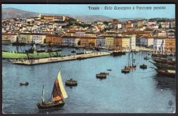 Italy Trieste Molo Giuseppina / Port / Ships - Trieste