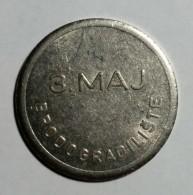 TOKEN JETON CROATIA , BRODOGRADILIŠTE 3. MAJ RIJEKA - SHIPYARD - Tokens & Medals
